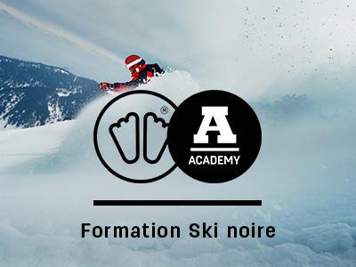Formation ski noire sidas academy