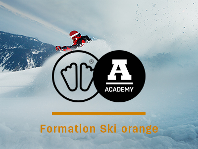 Formation ski orange sidas academy