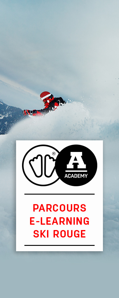 formation ski rouge sidas academy
