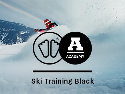 Ski training black sidas academy
