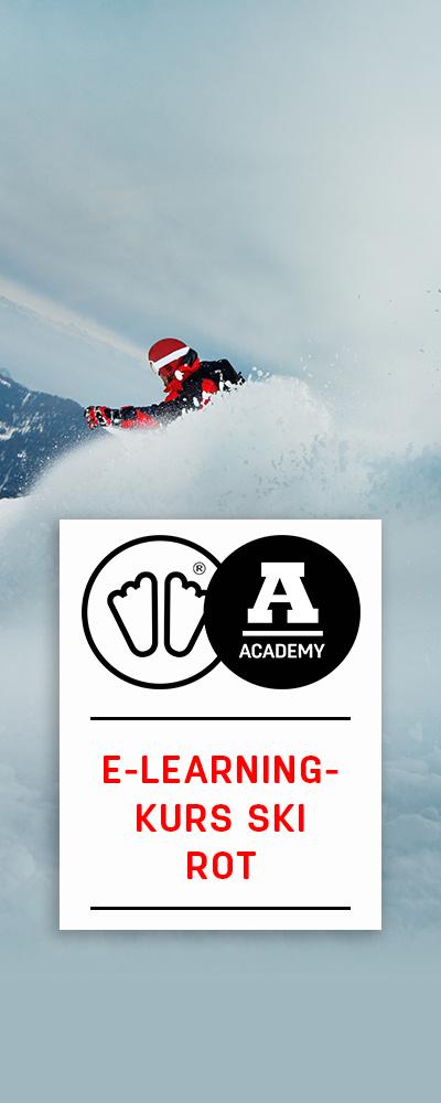 E-Learning-Kurs-Ski Rot